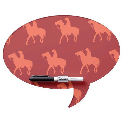 Rojos del vaquero pizarra