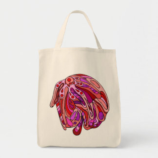 Rojos ocho bolsa de mano