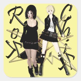 Rok Chiks Stickers
