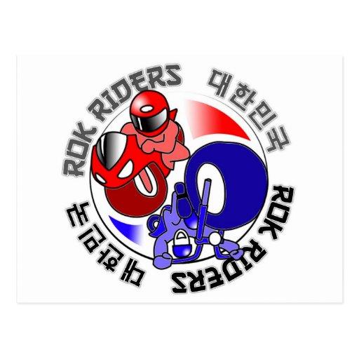 ROK Riders swag Postcard