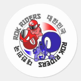 ROK Riders swag Sticker