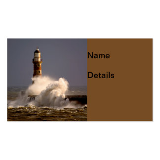 Roker Lighthouse Business Cards
