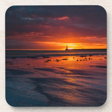 Roker Lighthouse Coasters