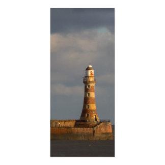 Roker Lighthouse Invitation