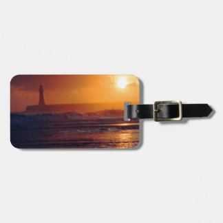 Roker Lighthouse Luggage Tag