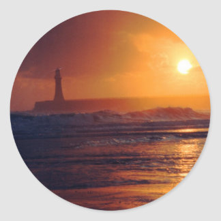 Roker Lighthouse Stickers