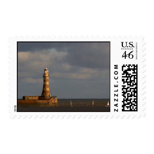 Roker LighthousePostage Stamp