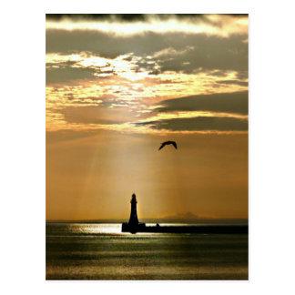 Roker Pier & Lighthouse, Sunderland Postcard