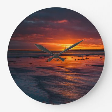 Roker Sunrise Wall Clock