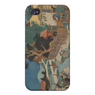 Rokudanme - Utagawa Sadahide iPhone 4 Cover