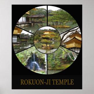 ROKUON-JI Temple, Kyoto Posters