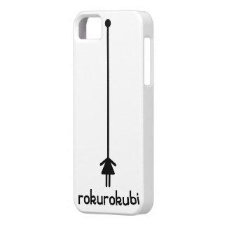 rokurokubi (black) iPhone SE/5/5s case