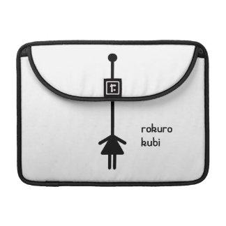 rokurokubi (black) MacBook pro sleeves
