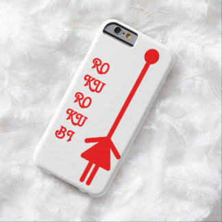 rokurokubi (red) barely there iPhone 6 case