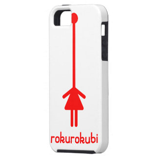 rokurokubi (red) iPhone SE/5/5s case