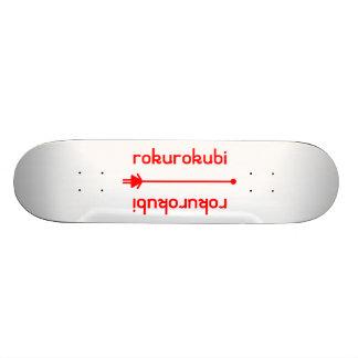 rokurokubi (red) skateboard