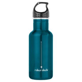 rokurokubi(white) 18oz water bottle