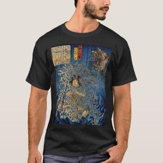 Rokusuke under waterfall T-Shirt