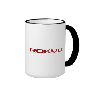 ROKVU - Black 15 oz. Ringer Mug