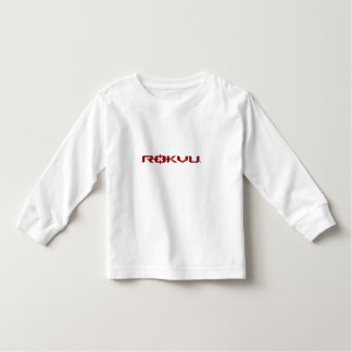 ROKVU - Toddler Long Sleeve, White T-shirt