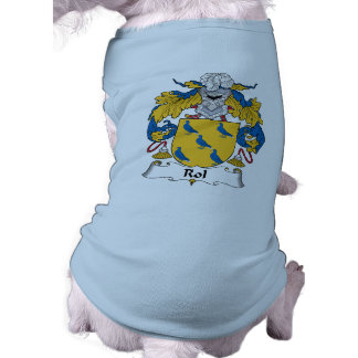 Rol Family Crest Dog T Shirt