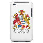 Rolan Family Crest Barely There iPod Case