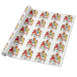 Rolan Family Crest Gift Wrapping Paper