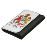 Rolan Family Crest Leather Wallet For Women