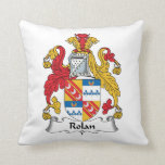 Rolan Family Crest Pillows