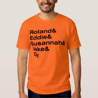 Roland and the Ka-Tet of 19 Tee Shirt