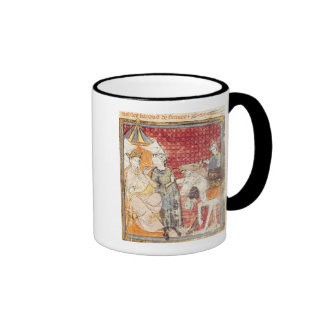 Roland Bidding Farewell to Charlemagne Coffee Mugs