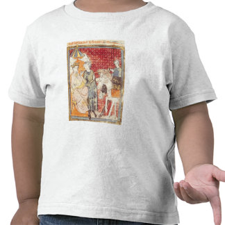 Roland Bidding Farewell to Charlemagne Tee Shirts