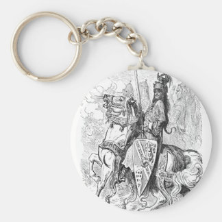 Roland Count of Mans and Knight of Blaives Keychain