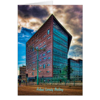 Roland Levinsky Building, Plymouth Uni - Blank Greeting Card