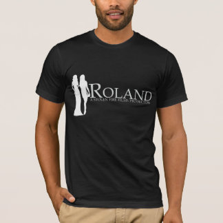 ROLAND: Manya and Nadiya Silhouette (black) T-Shirt