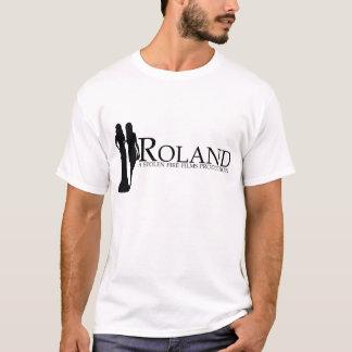 ROLAND: Manya and Nadiya Silhouette (white) T-Shirt