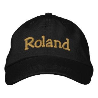 Roland personalizó la gorra de béisbol/el gorra