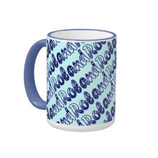 Roland Ringer Mug in Blue