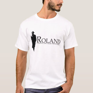 ROLAND: Roland Silhouette (white) T-Shirt