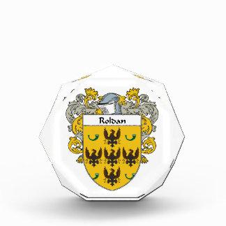 Roldan Coat of Arms Mantled png Acrylic Award