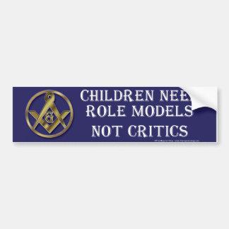 Role Model Car Bumper Sticker