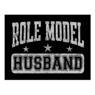 Role Model Husband Postcard