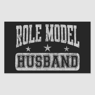 Role Model Husband Rectangular Sticker