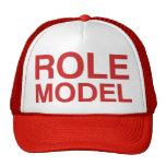 ROLE MODEL slogan hat