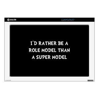 Role Model Super Model Skin For Laptop