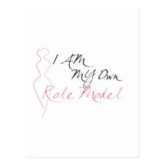 Role Model White Postcards