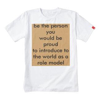 Role model zazzle HEART T-Shirt