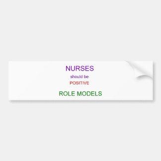 Role Models Car Bumper Sticker