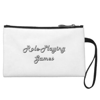 Role-Playing Games Classic Retro Design Wristlet Clutch