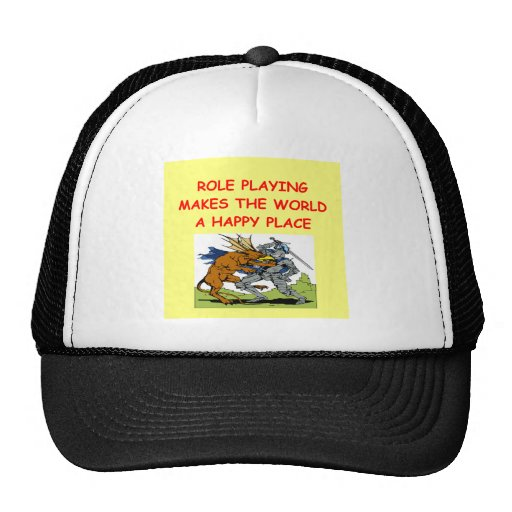 role playing hat